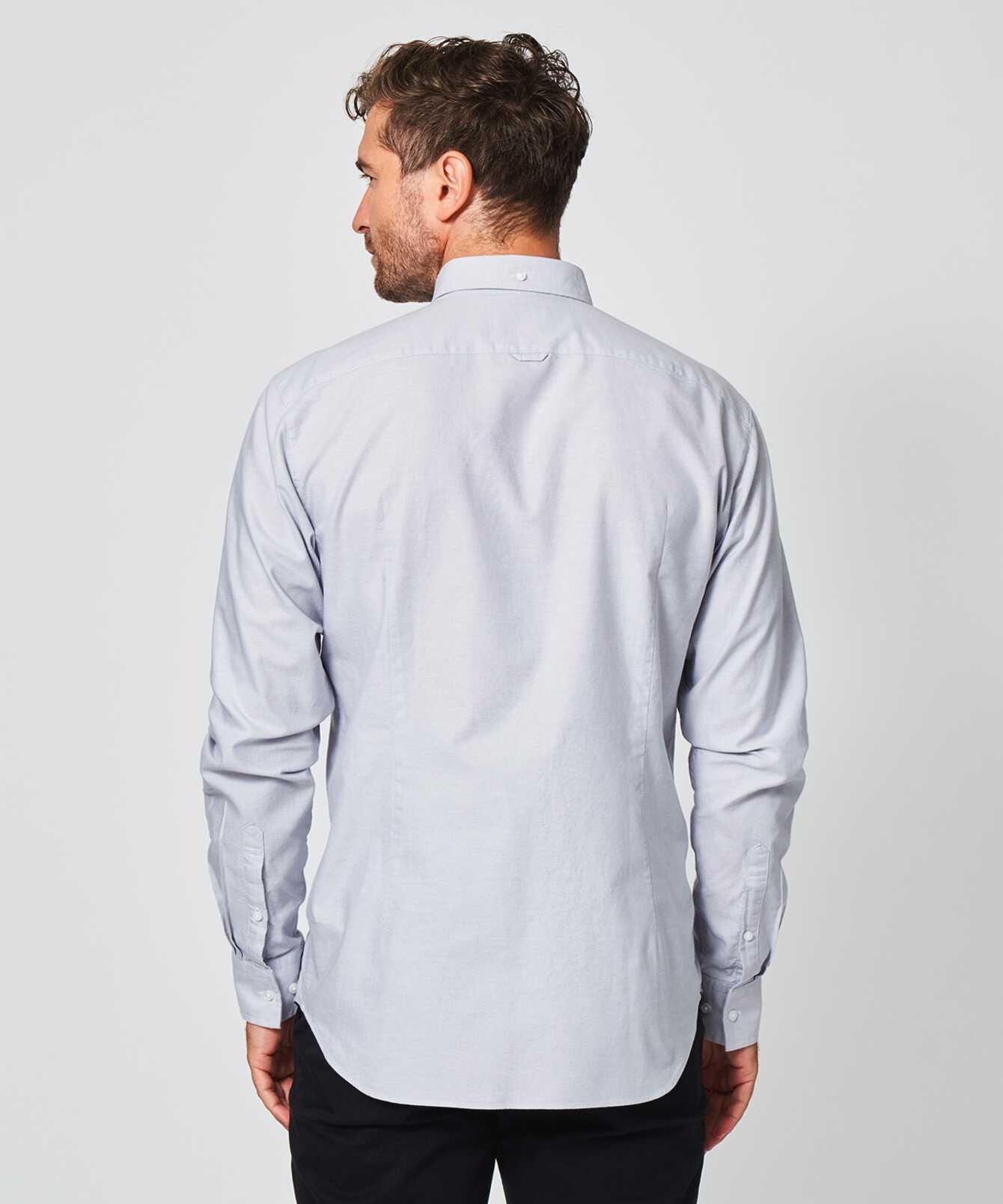 Shirt Hampton Oxford Gray The Shirt Factory