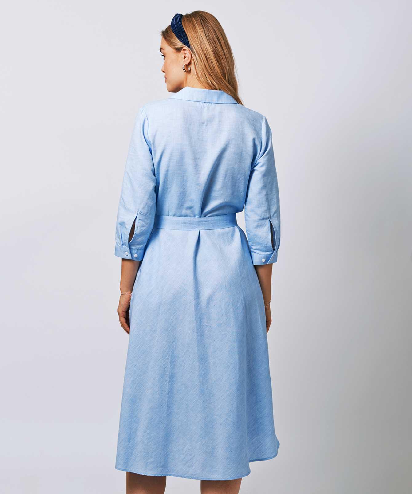 Skjorta Stella Portofino Blå The Shirt Factory