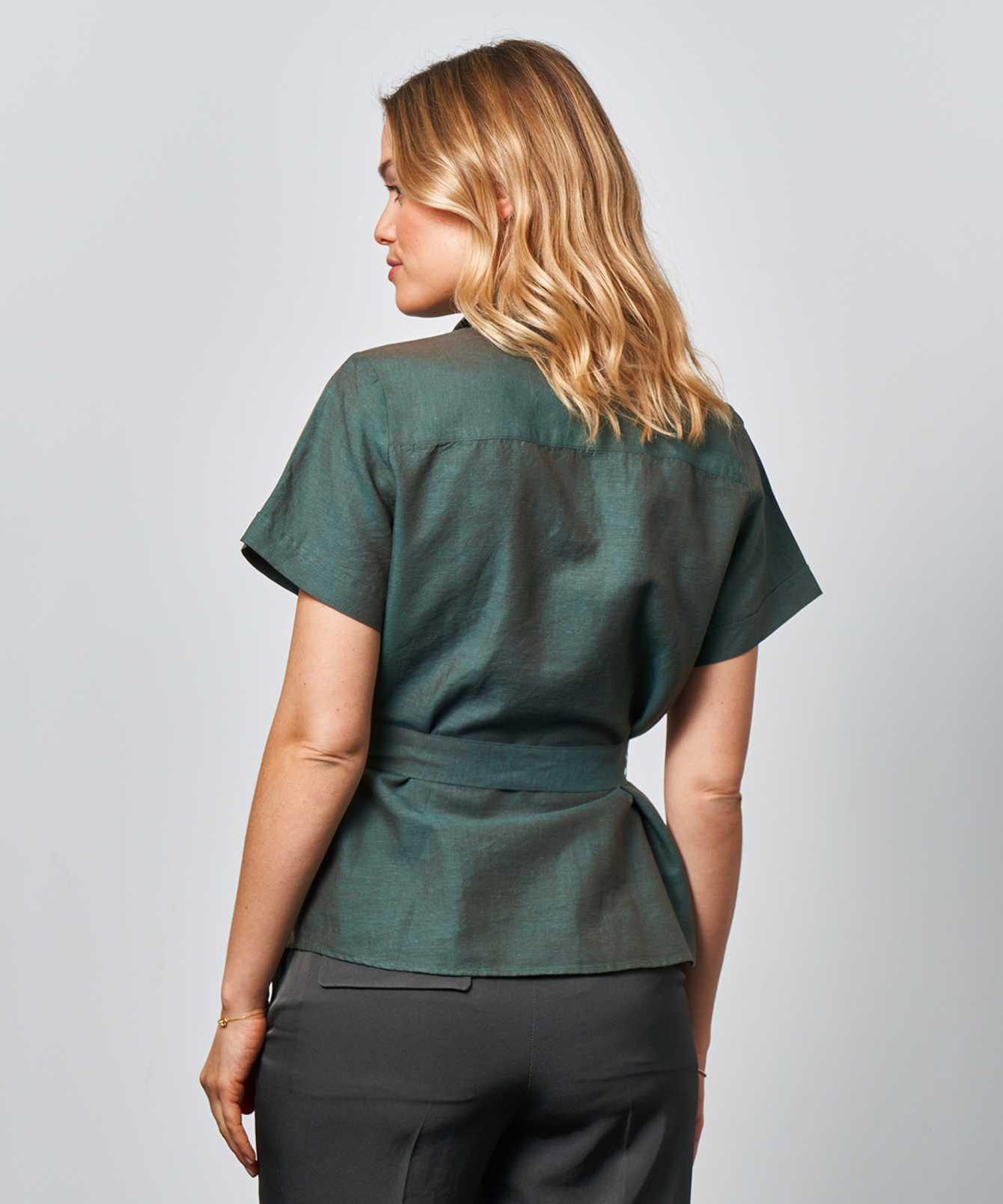 Skjorta Liv Portofino Grön The Shirt Factory