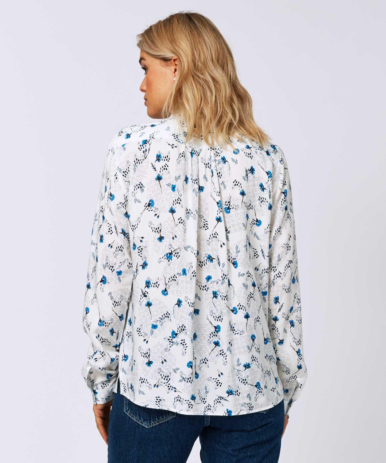 Skjorta Gina Lily Blå The Shirt Factory