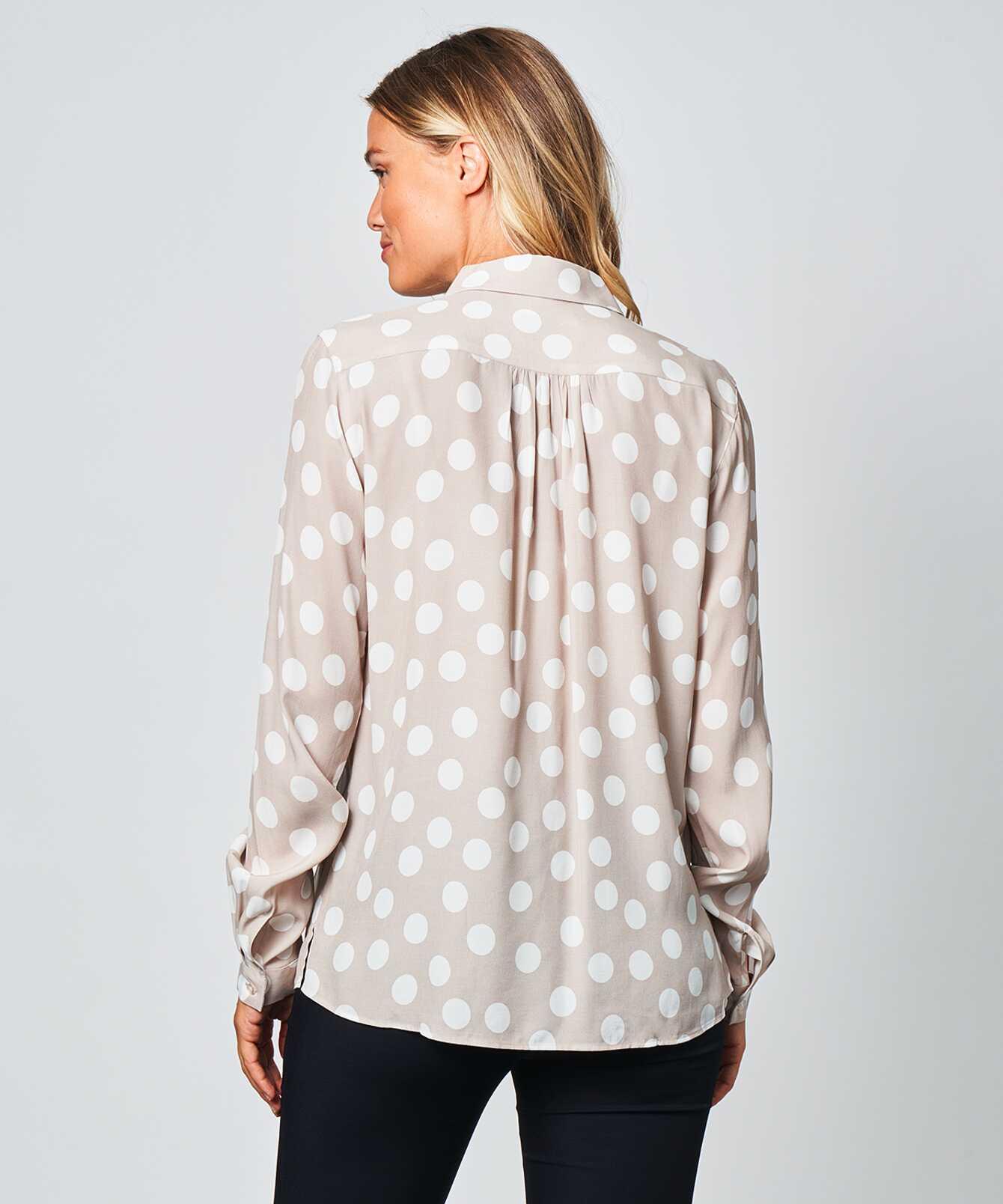 Shirt Gina Polka dots The Shirt Factory