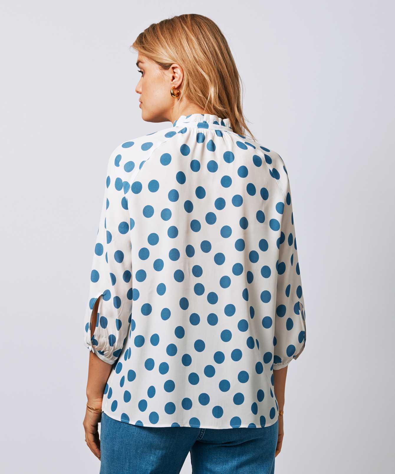 Skjorta Mary Polka  The Shirt Factory