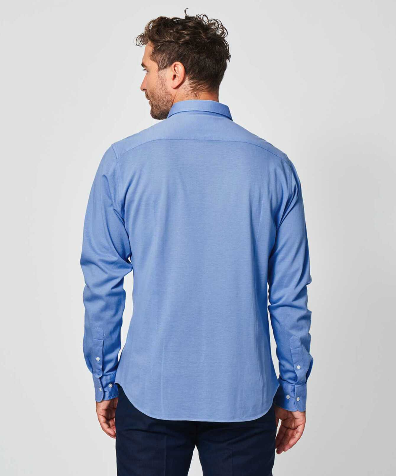 Shirt Royal Troon Pique Ljusblå The Shirt Factory