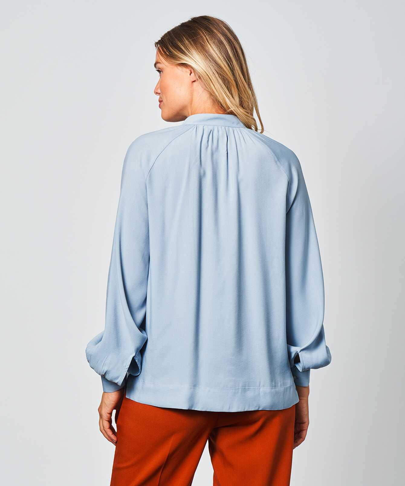 Shirt Mira Verona Dusty Blue The Shirt Factory