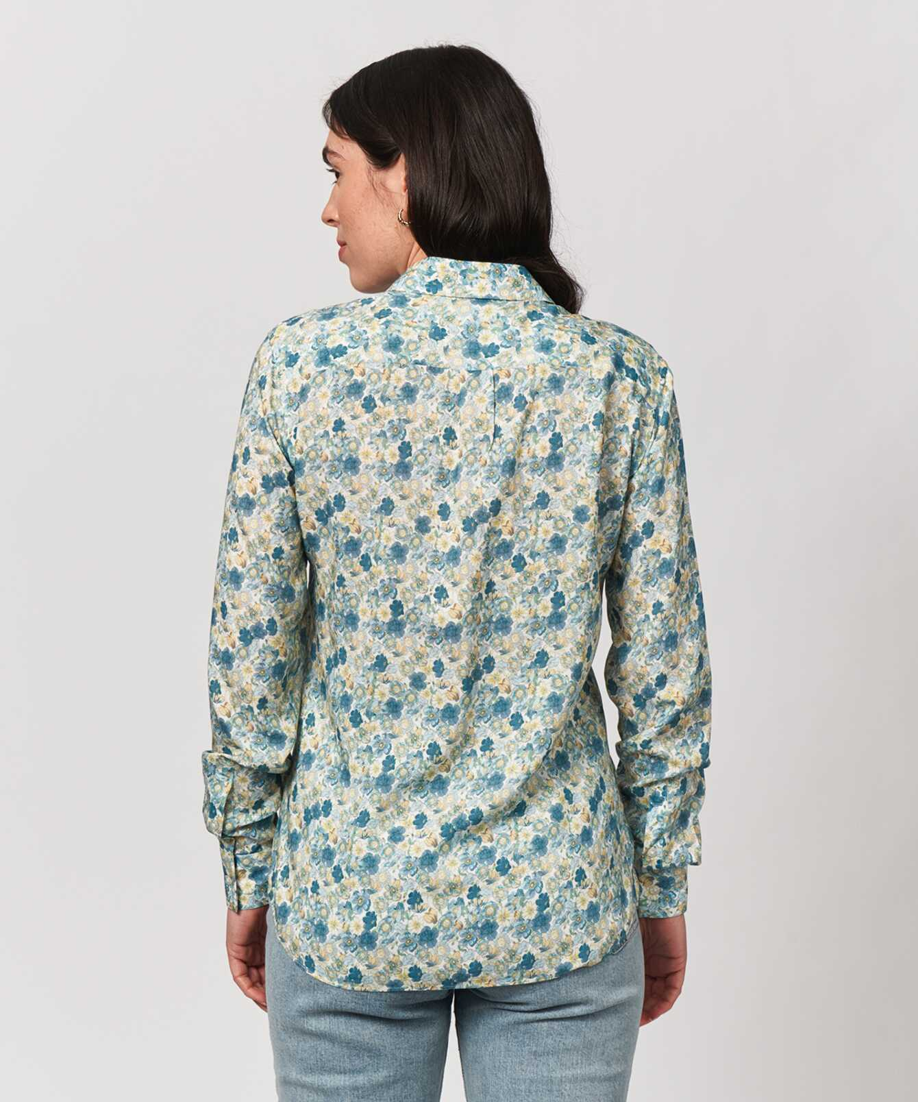 Shirt Tilde Floret Print   The Shirt Factory