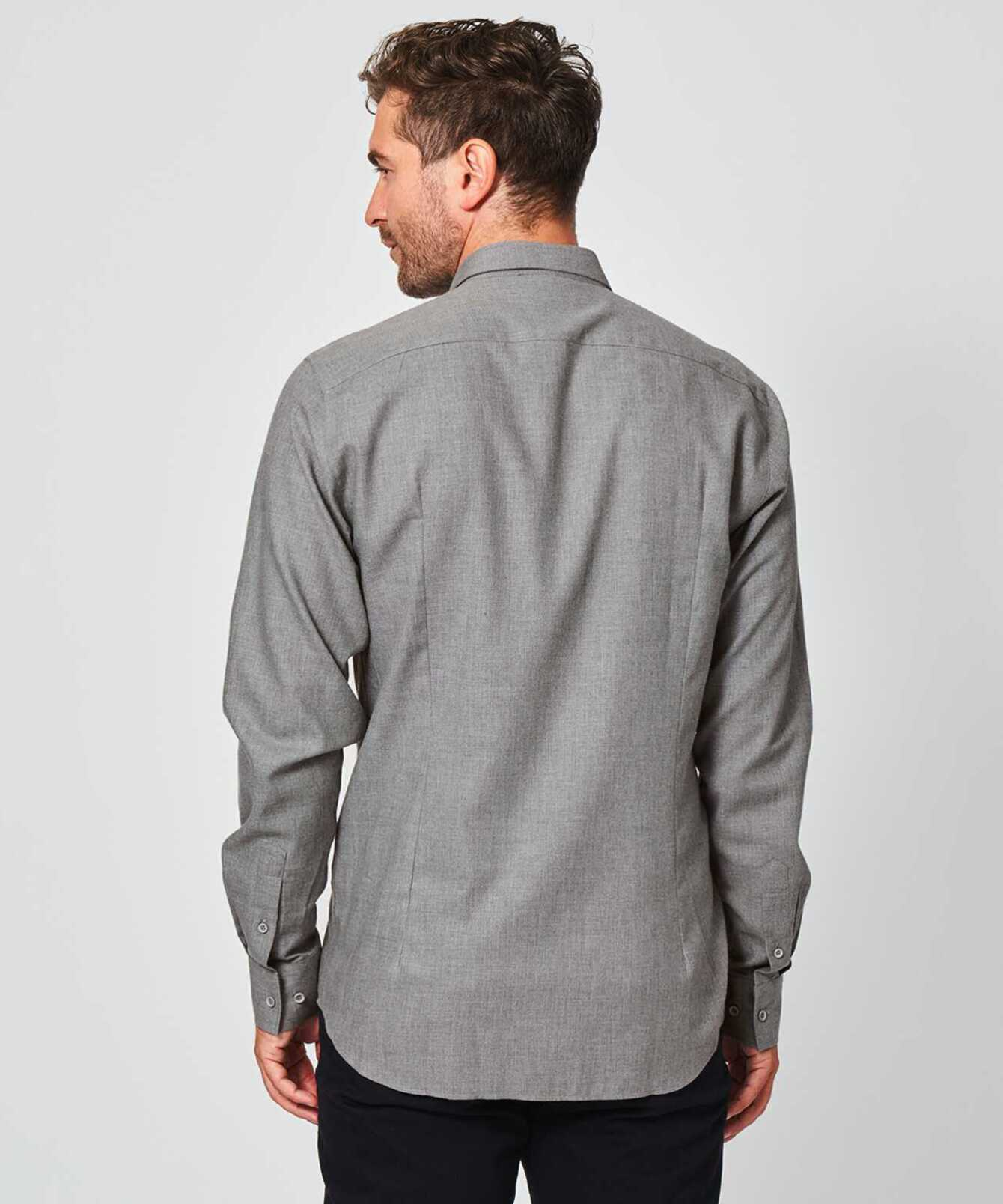 Shirt Costello light grey The Shirt Factory