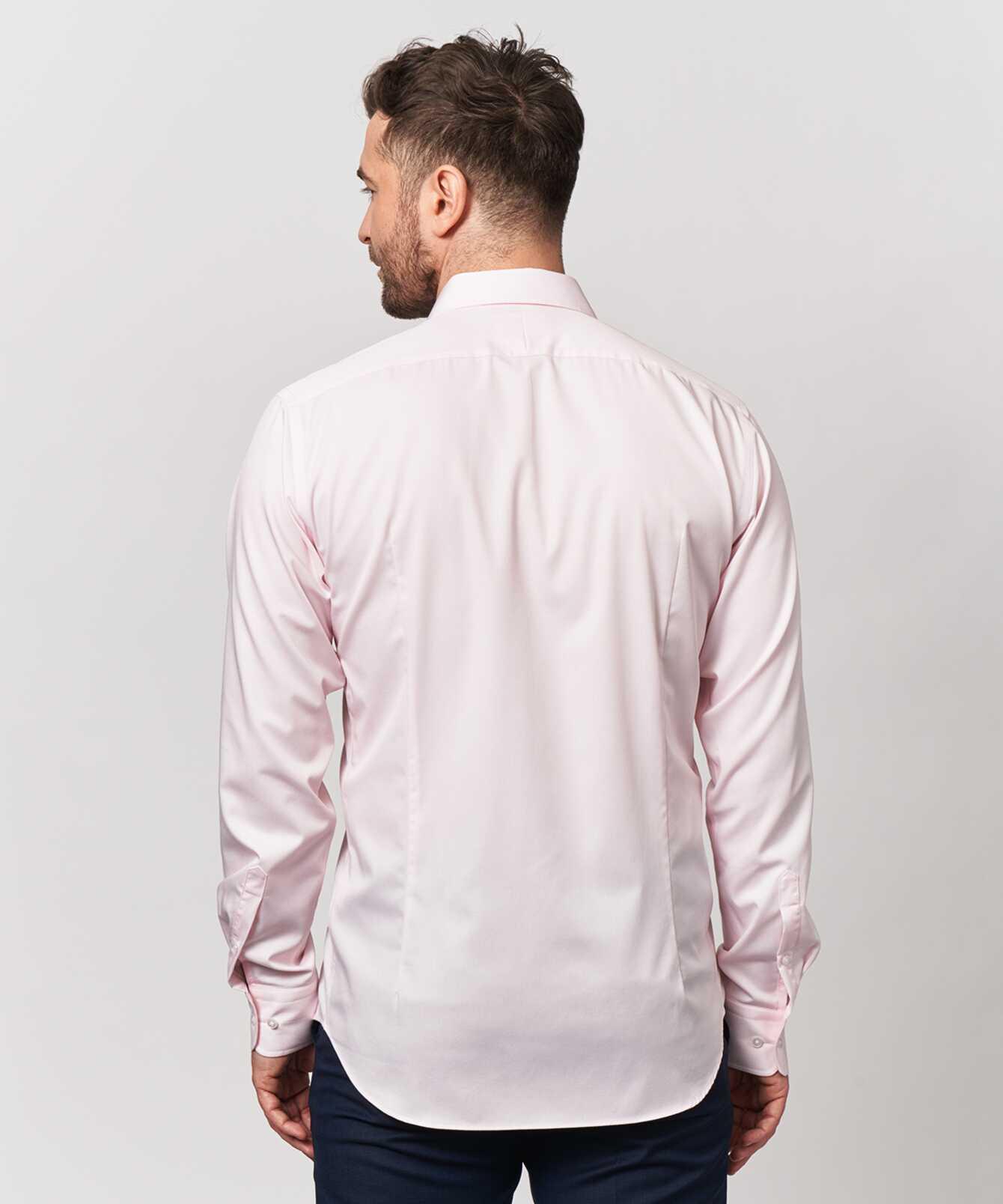 Skjorta Grand Twill Strykfri Rosa The Shirt Factory