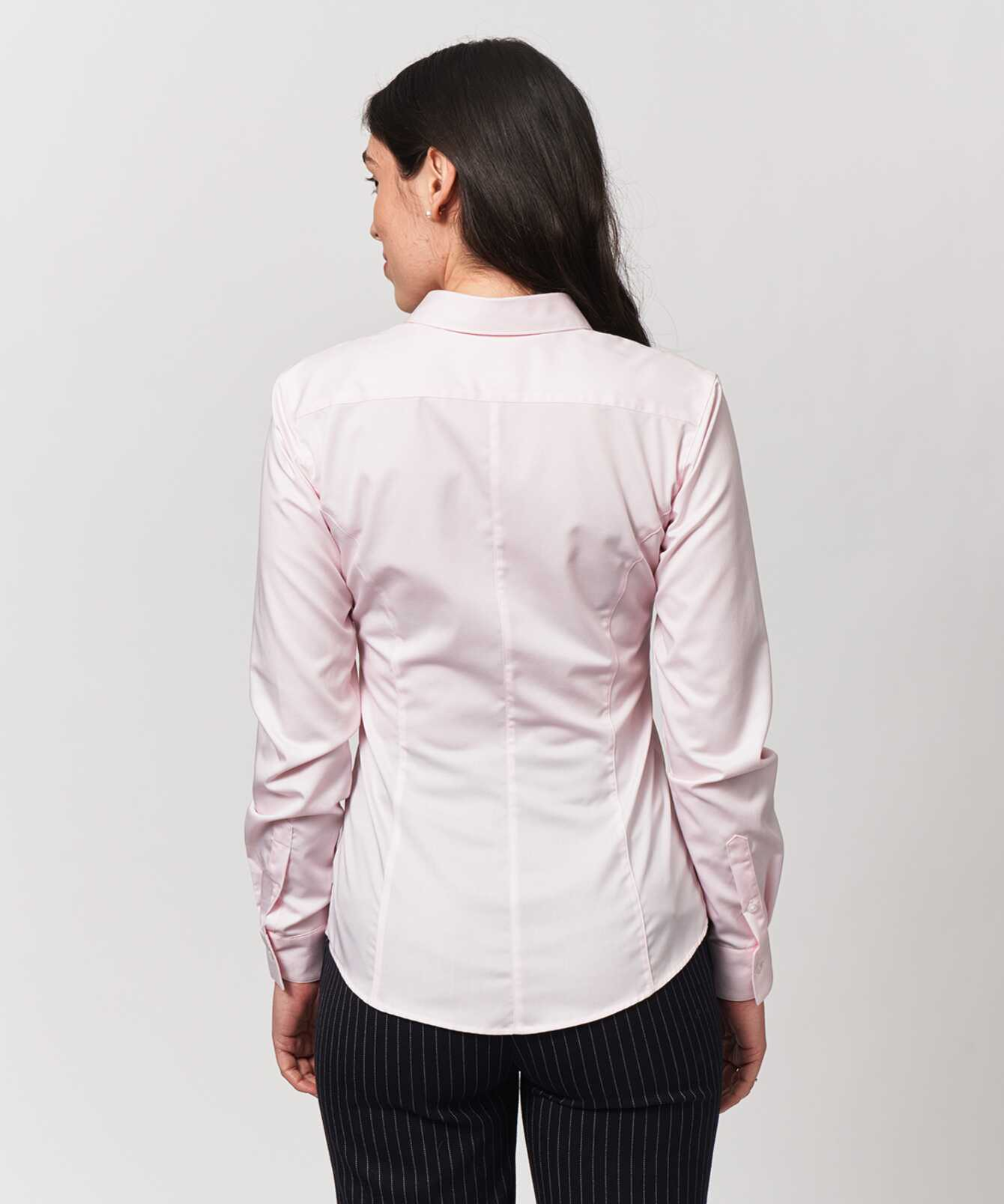 Shirt Emma Grand Twill Rosa The Shirt Factory
