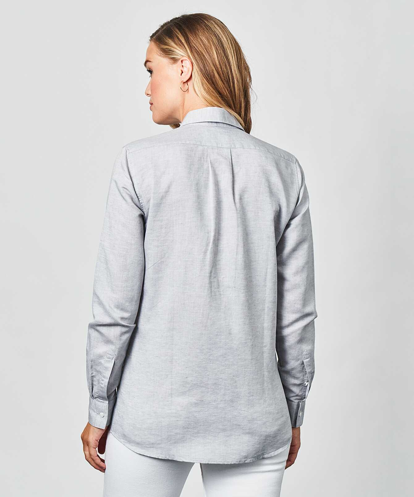 Skjorta Mickan Portofino Grå The Shirt Factory