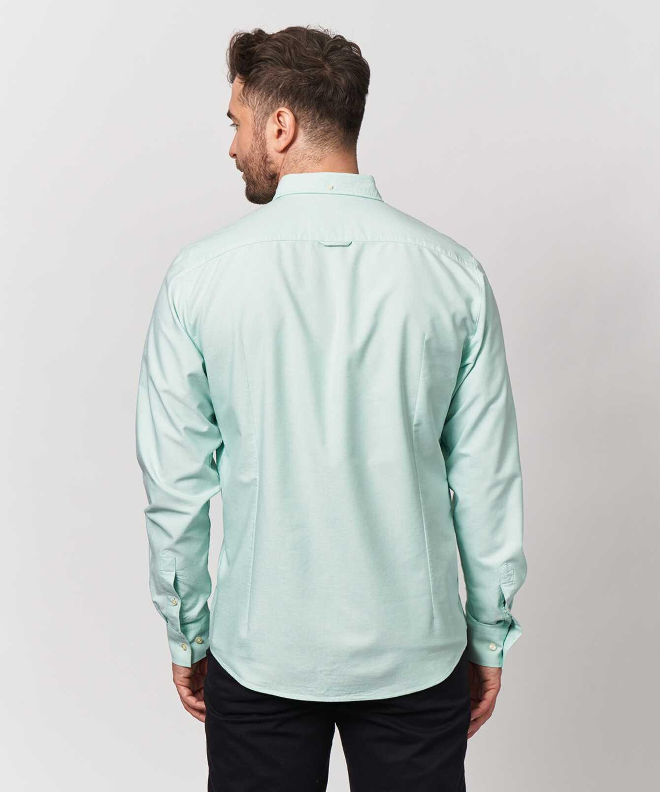 Skjorta Boston Oxford Ljusgrön The Shirt Factory