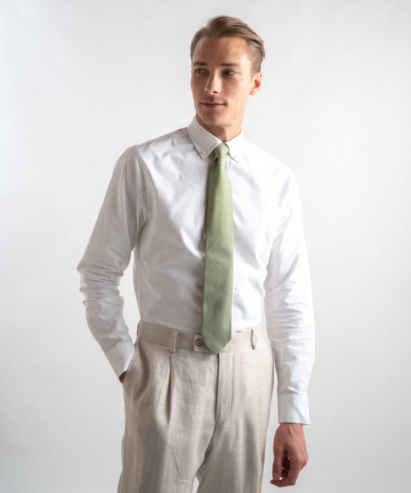 Skjorta Boston Oxford Vit  The Shirt Factory
