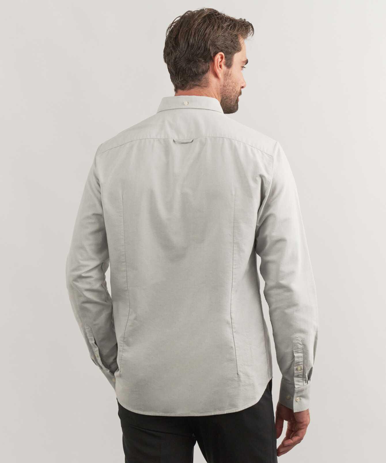 Shirt Boston Oxford Light Grey The Shirt Factory