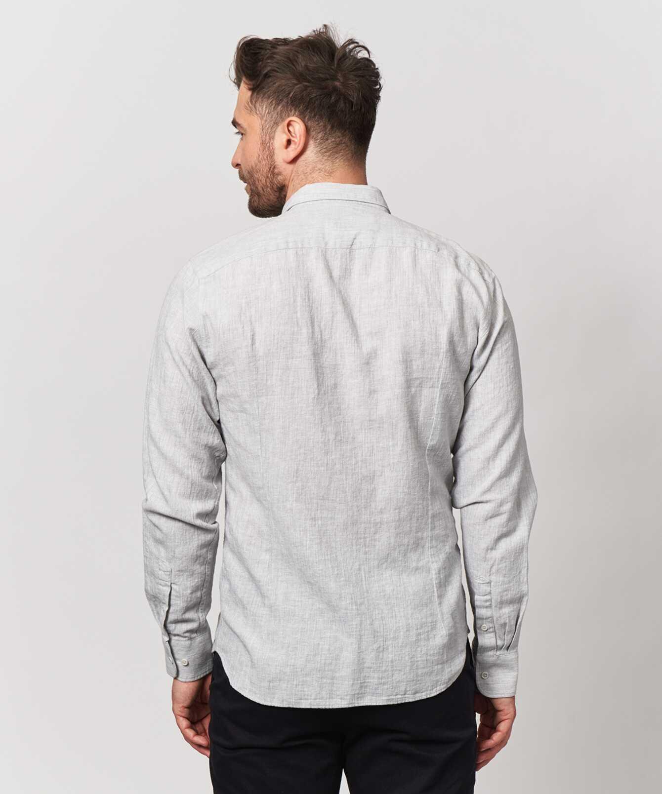 Skjorta Webster Grå The Shirt Factory