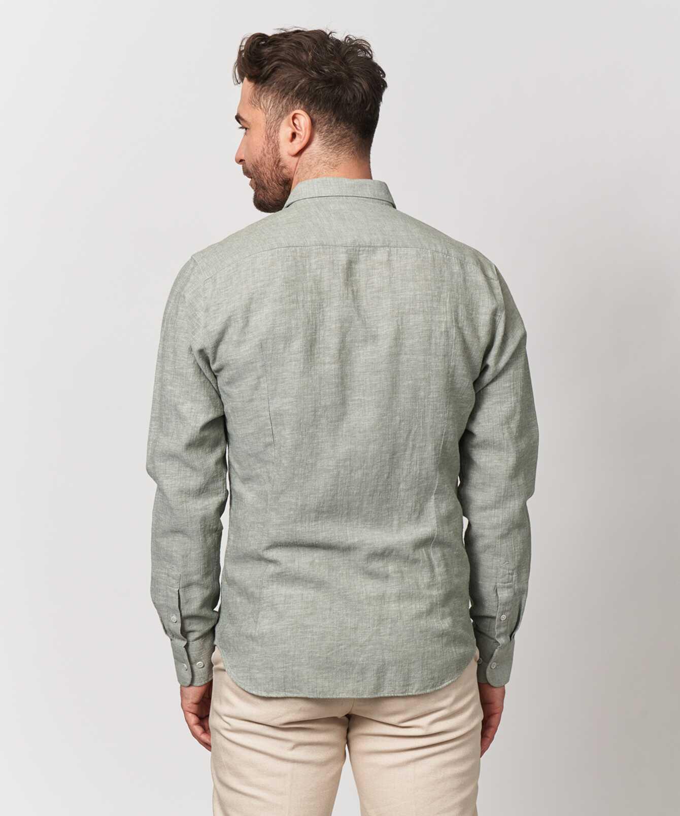 Skjorta Webster Grön The Shirt Factory
