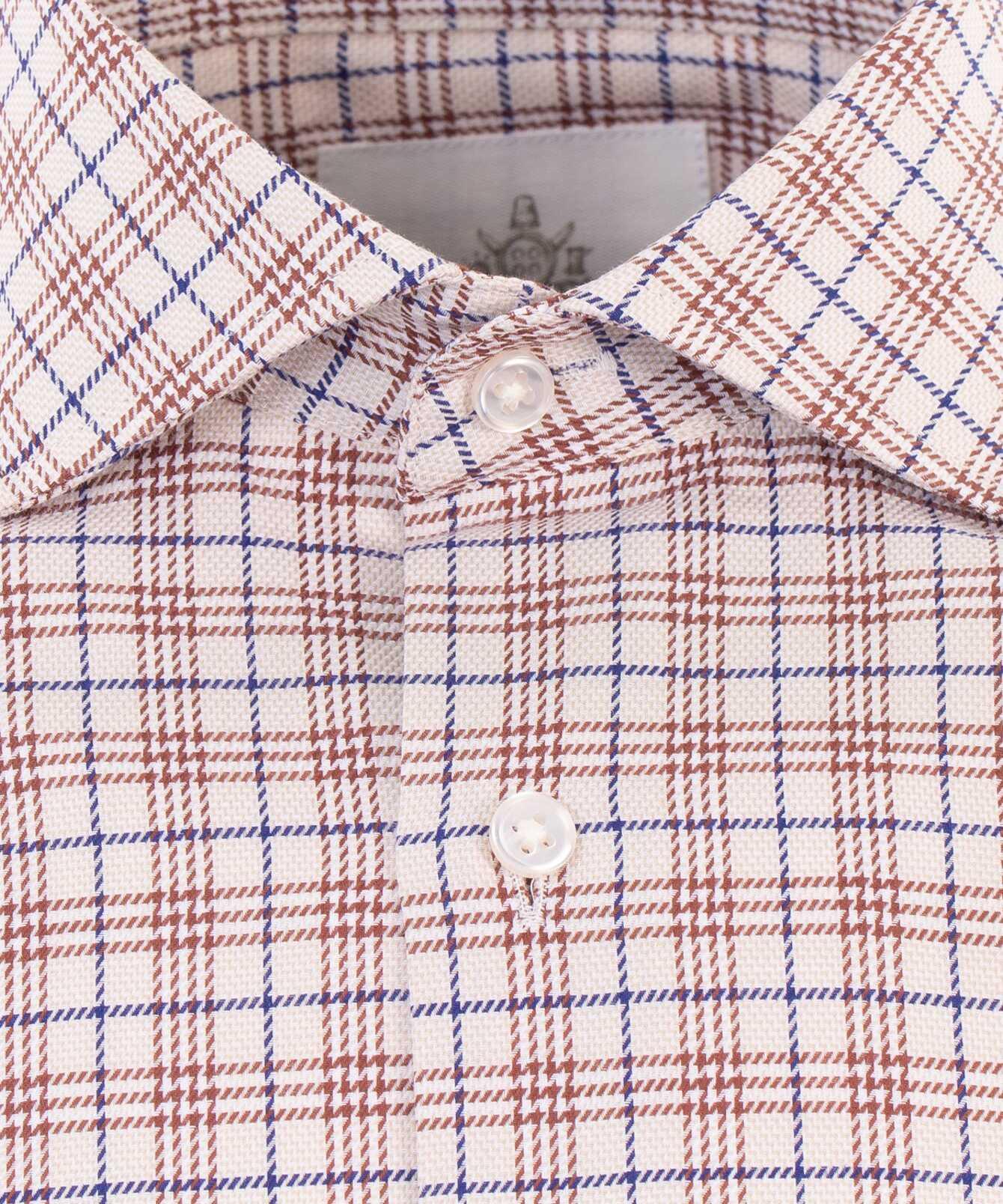 Shirt Wilson Beige Extra Lång Ärm The Shirt Factory