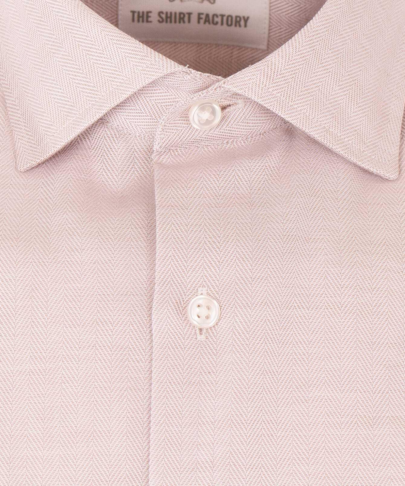 Skjorta Lewiston Sand The Shirt Factory
