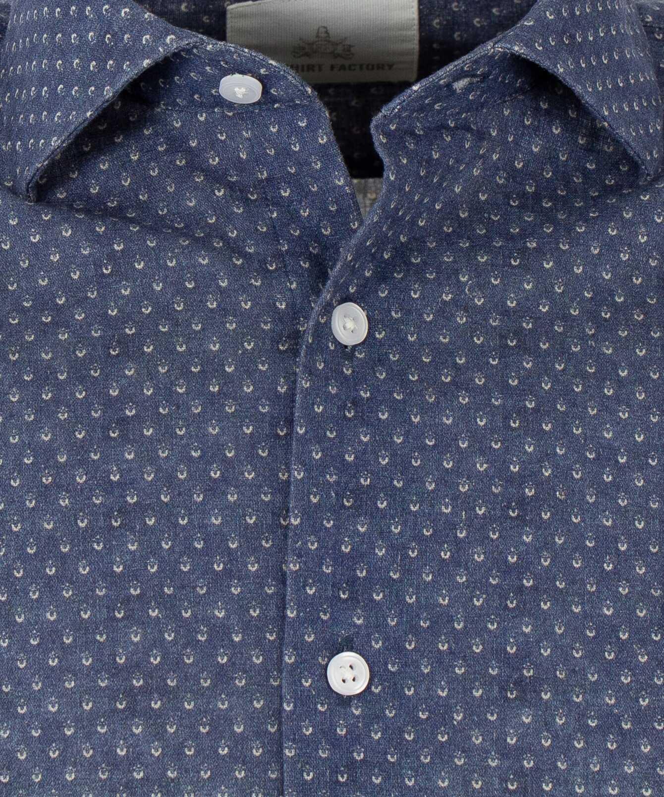 Skjorta Cadiz extra lång ärm The Shirt Factory