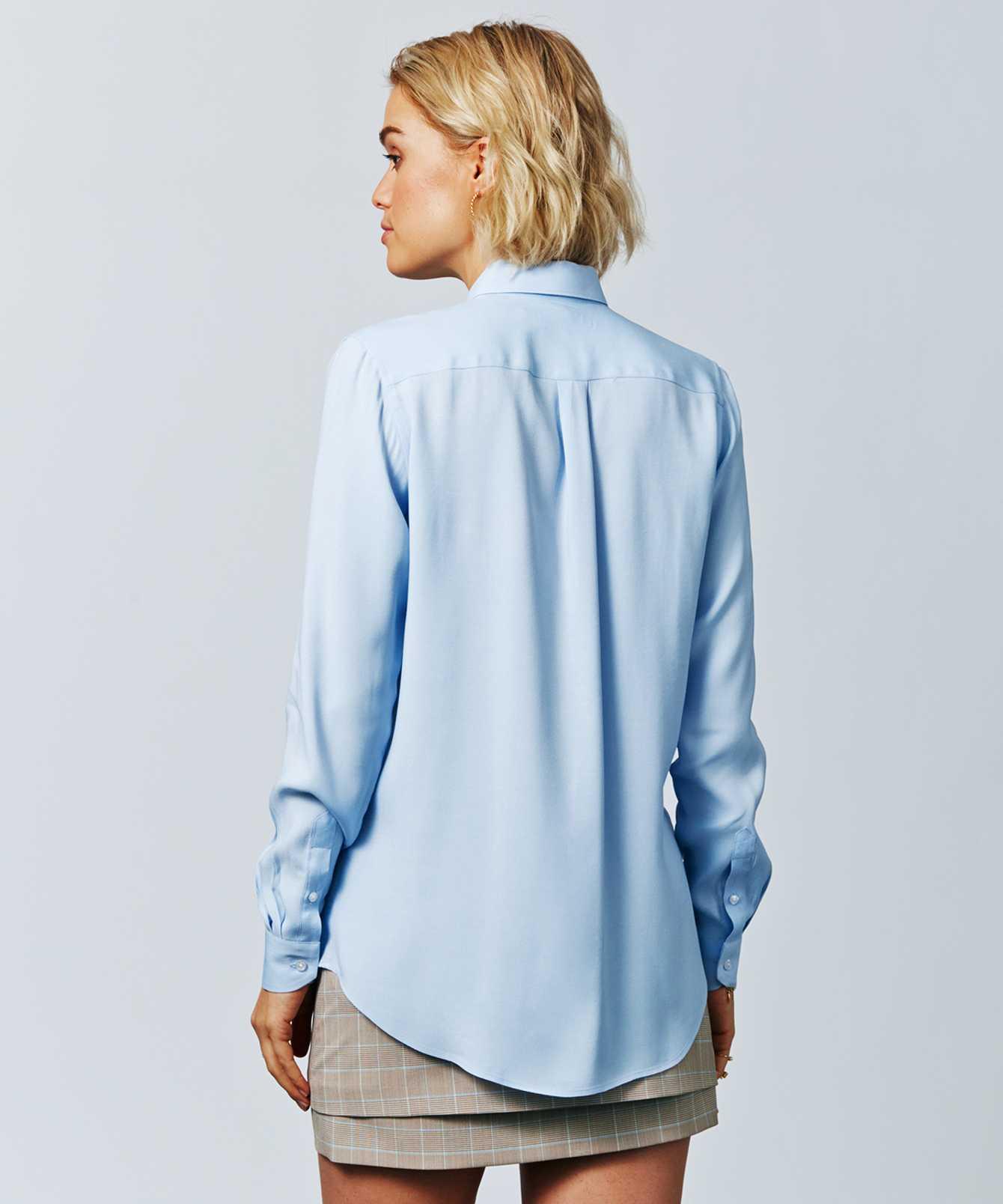 Skjorta Sonja Verona Blå The Shirt Factory