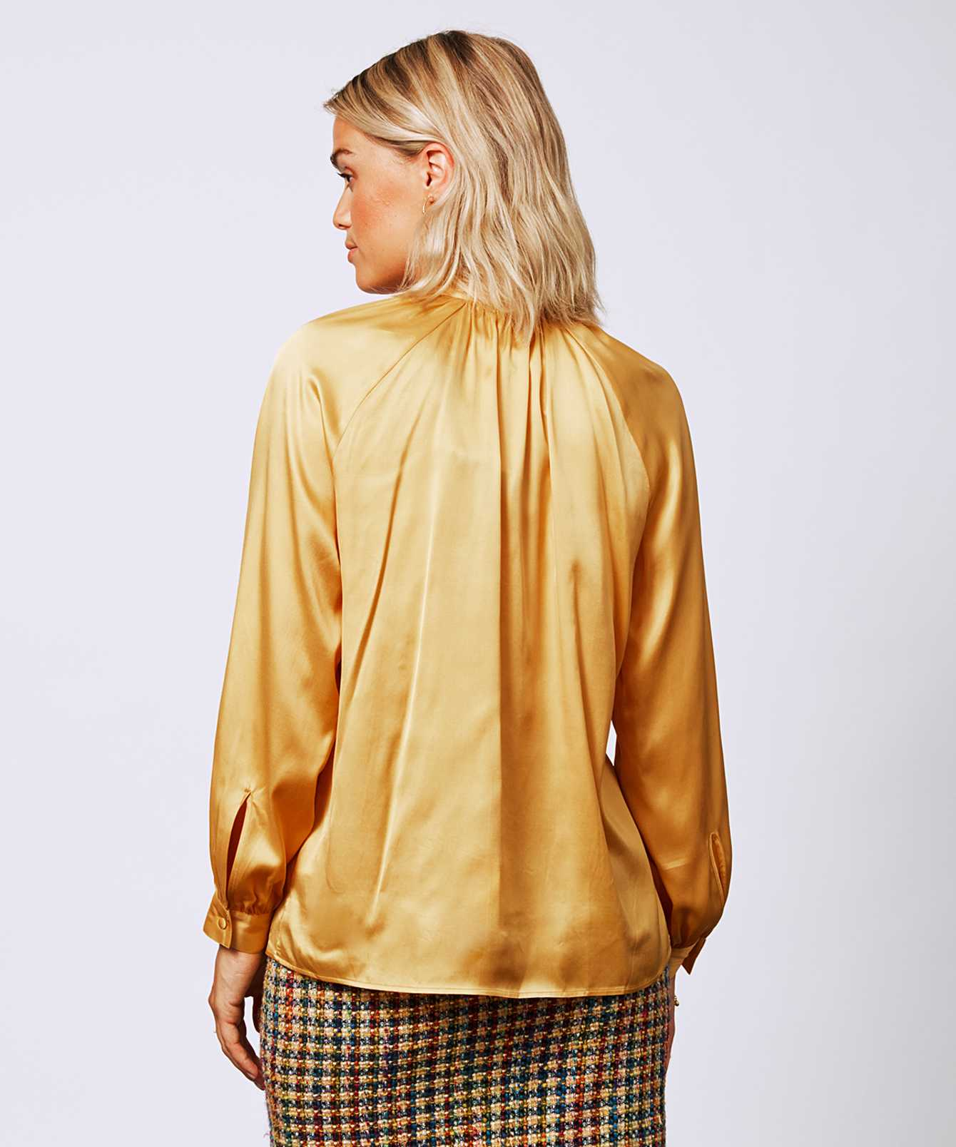Shirt Maria Sublime Guld  The Shirt Factory