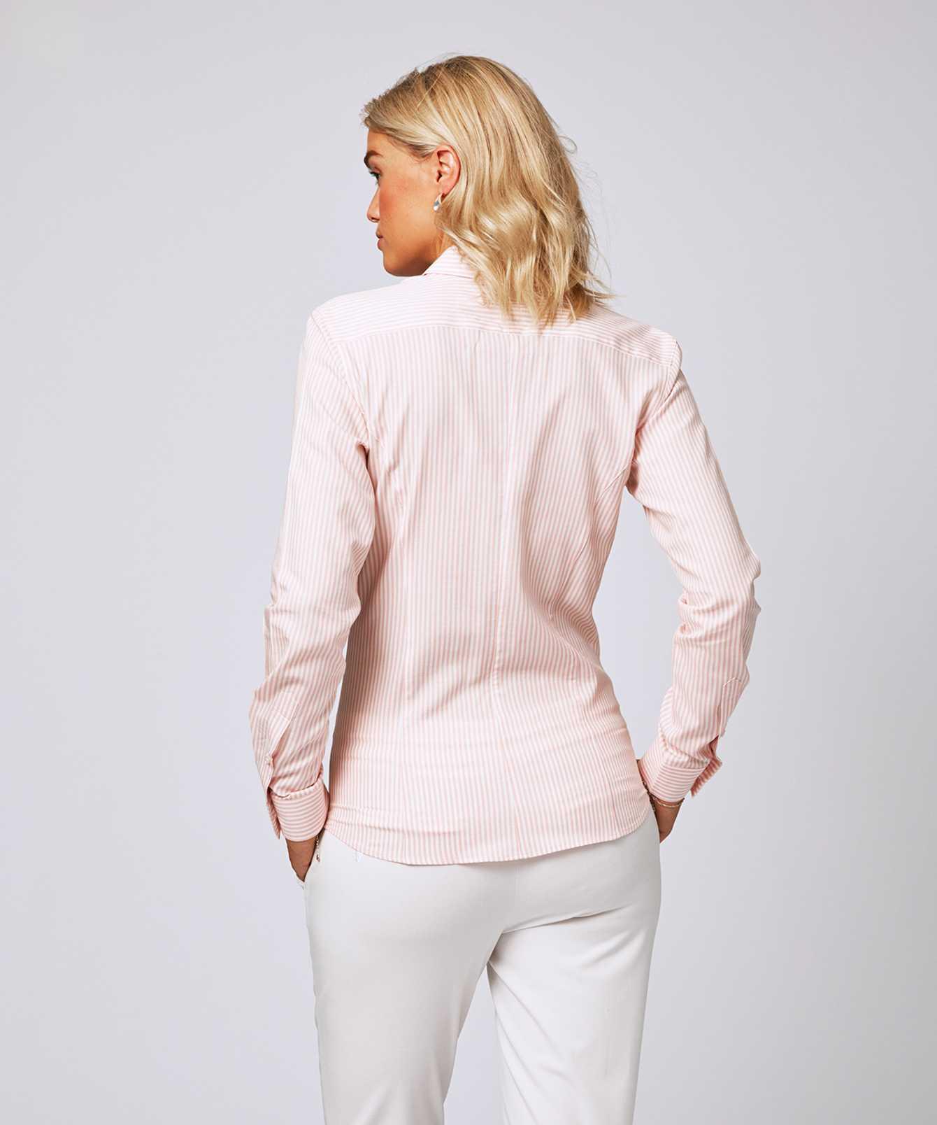 Skjorta Emma Stripe Rosa  The Shirt Factory