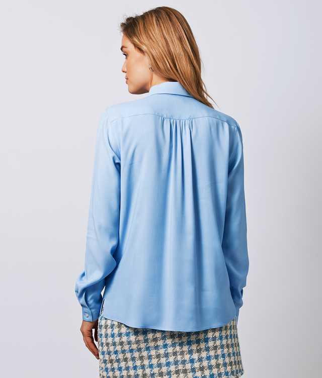 Gina Verona Ljusblå The Shirt Factory