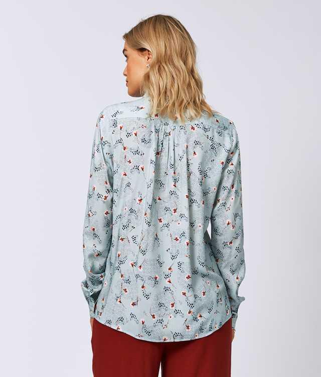 Gina Lily Grön The Shirt Factory
