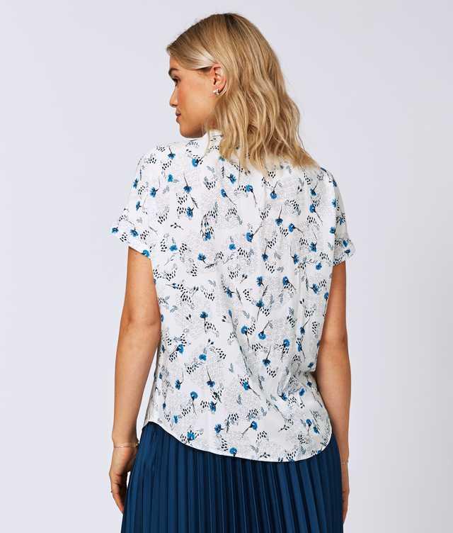 Minou Lily Blå The Shirt Factory