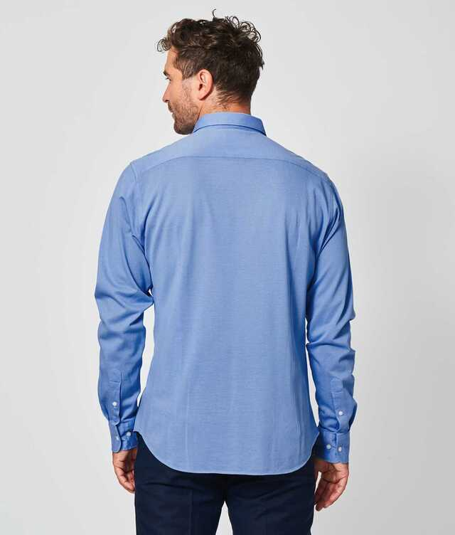 Royal Troon Pique Light Blue The Shirt Factory