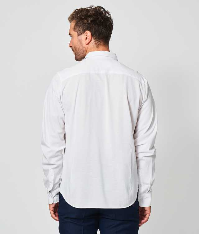 Royal Troon Pique White The Shirt Factory