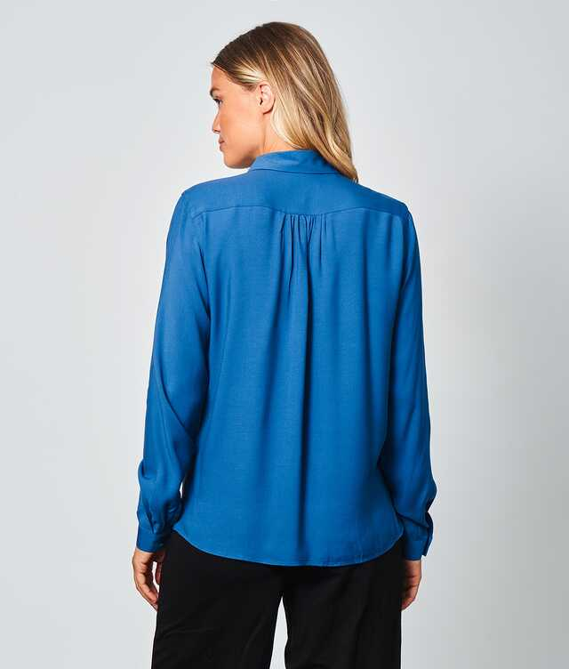 Gina Verona Blå  The Shirt Factory