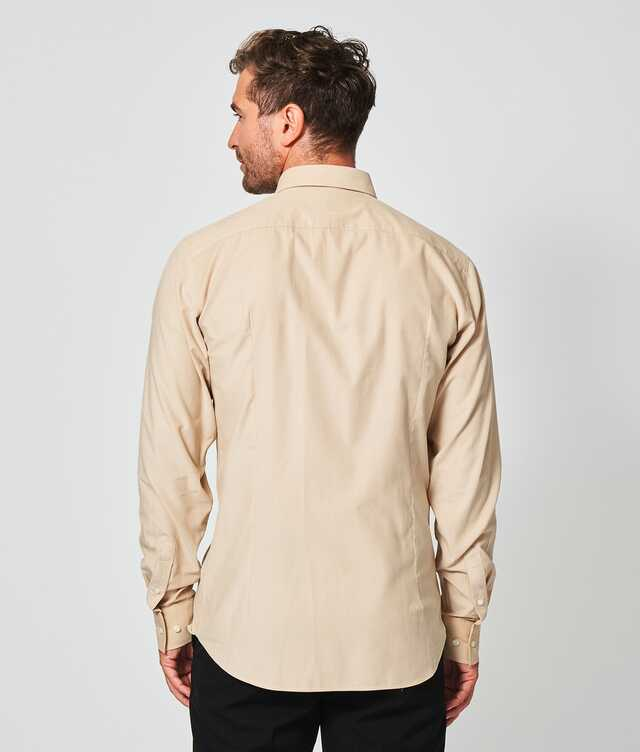 Toronto Cord Beige The Shirt Factory