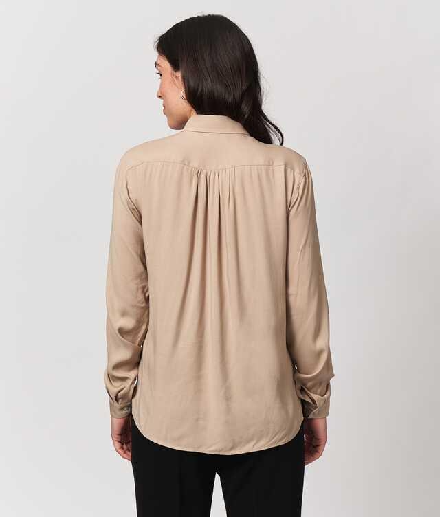 Gina Verona Beige The Shirt Factory