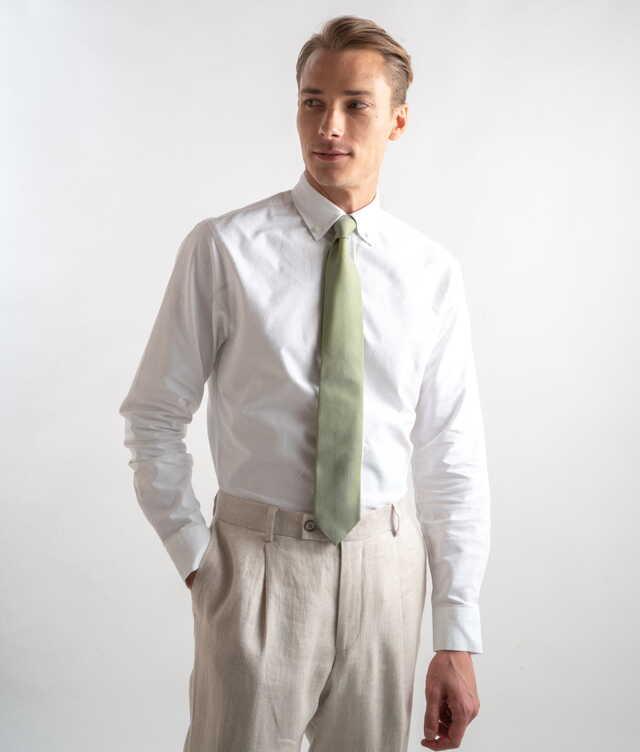 Boston Oxford White The Shirt Factory