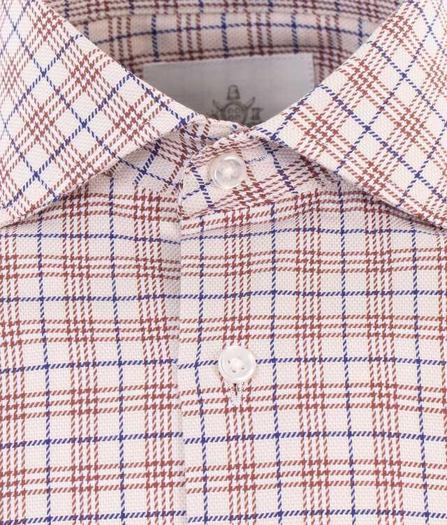Wilson Beige Extra Lång Ärm The Shirt Factory