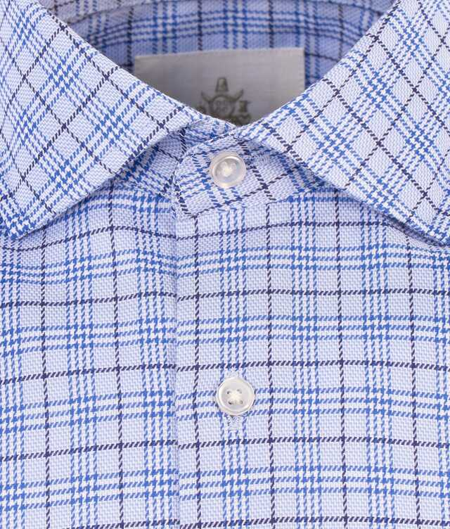 Wilson Blå Extra Lång Ärm The Shirt Factory