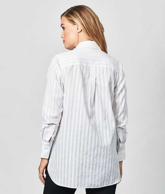 Nova Cotton Stripe The Shirt Factory