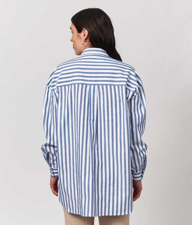 Elsa Cotton Stripe The Shirt Factory