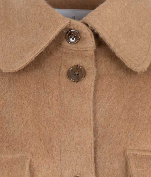 Holly Flanell Beige The Shirt Factory