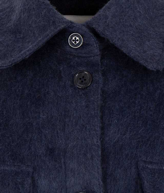 Holly Flanell Blue The Shirt Factory