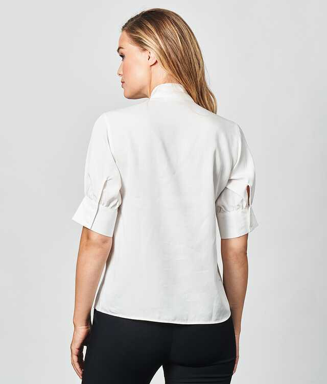 Sanna Soft Off-white The Shirt Factory