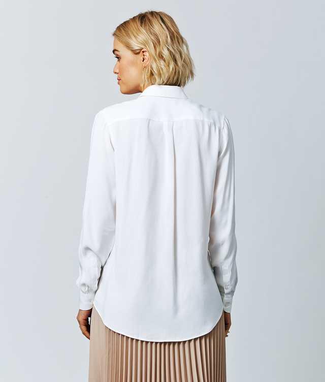 Sonja Verona Vit The Shirt Factory