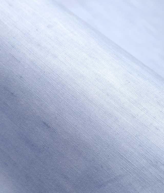 Delsbo Linne Blå kort ärm The Shirt Factory
