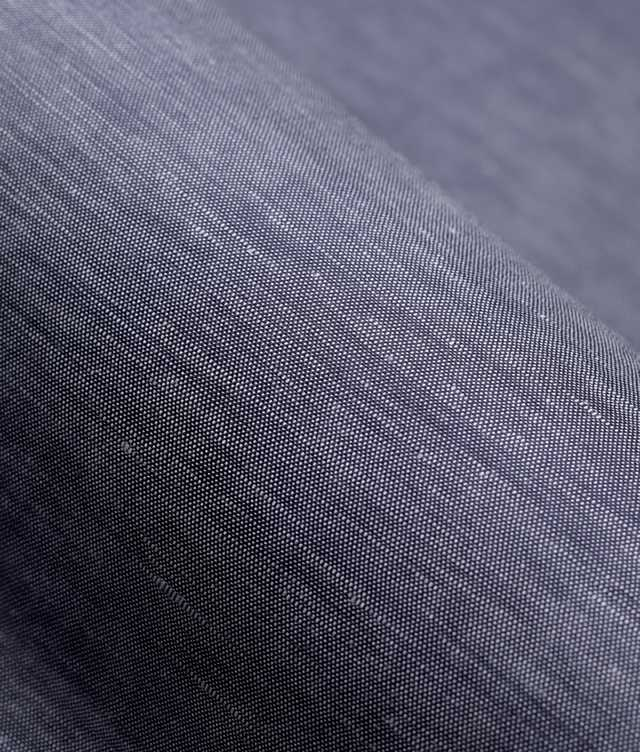 Delsbo Linne Navy The Shirt Factory