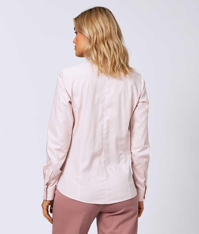 Emma Royal Stretch Rosa The Shirt Factory