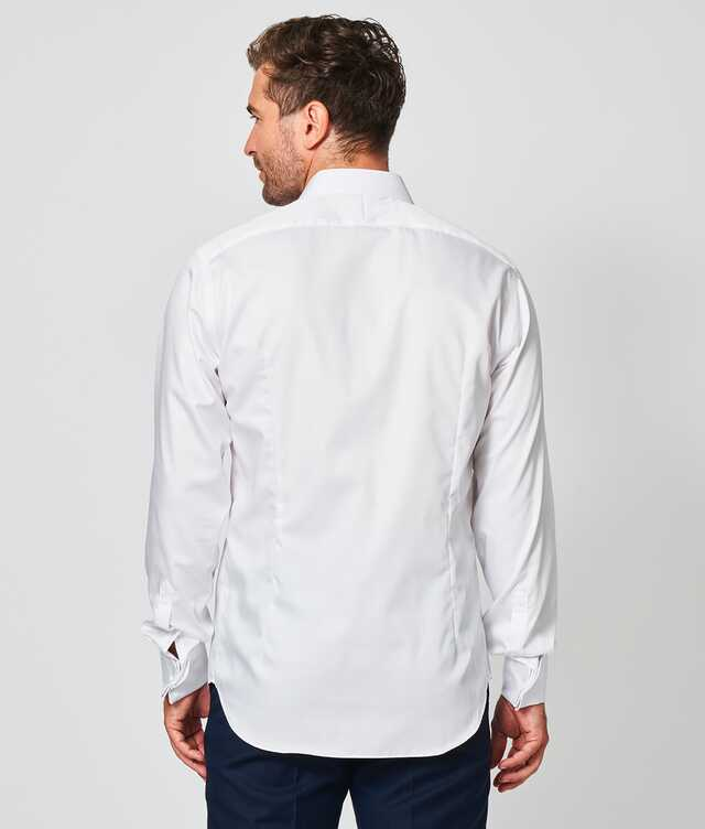 Twill Strykfri Vit The Shirt Factory