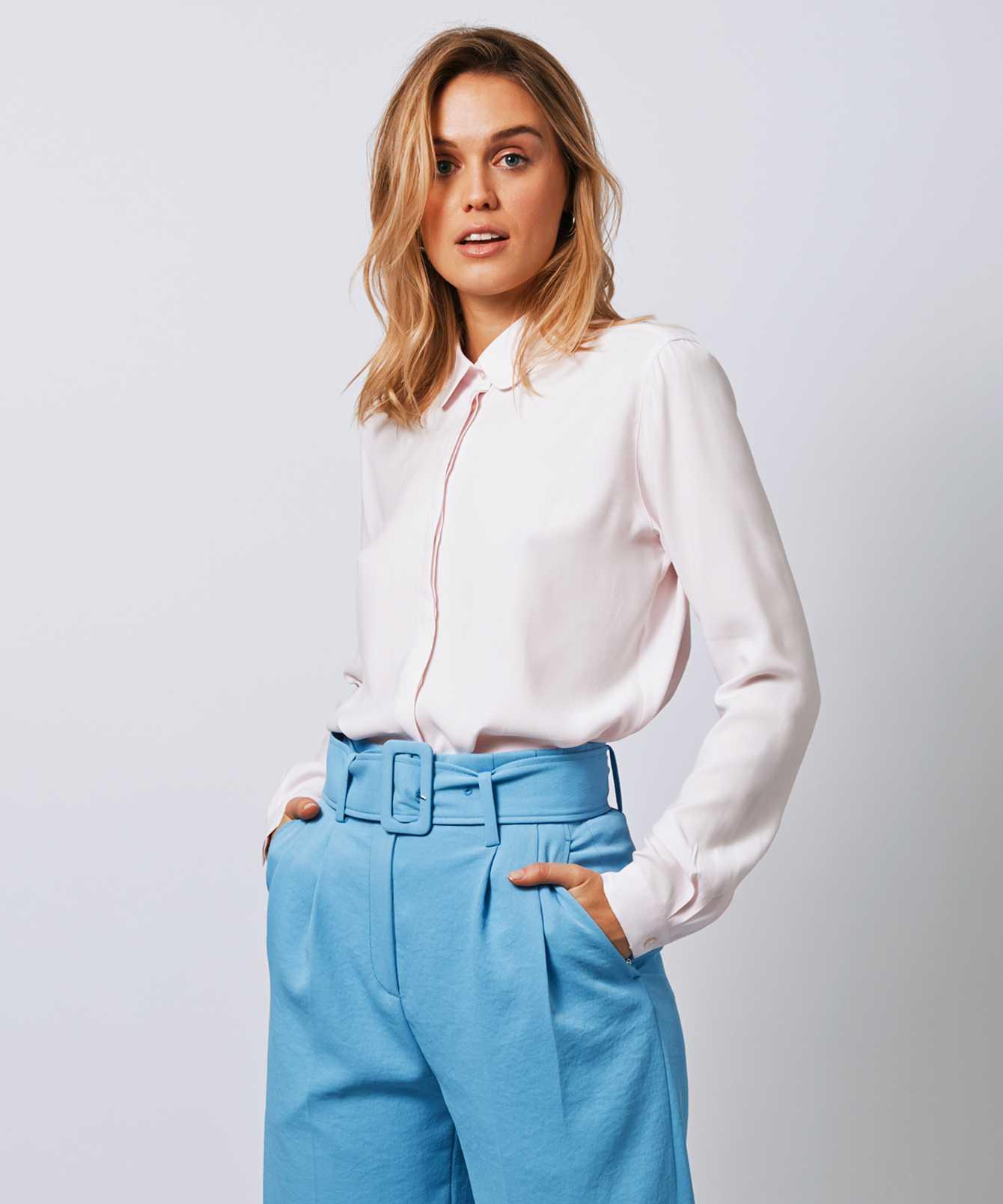 Skjorta Gina Verona Rosa The Shirt Factory