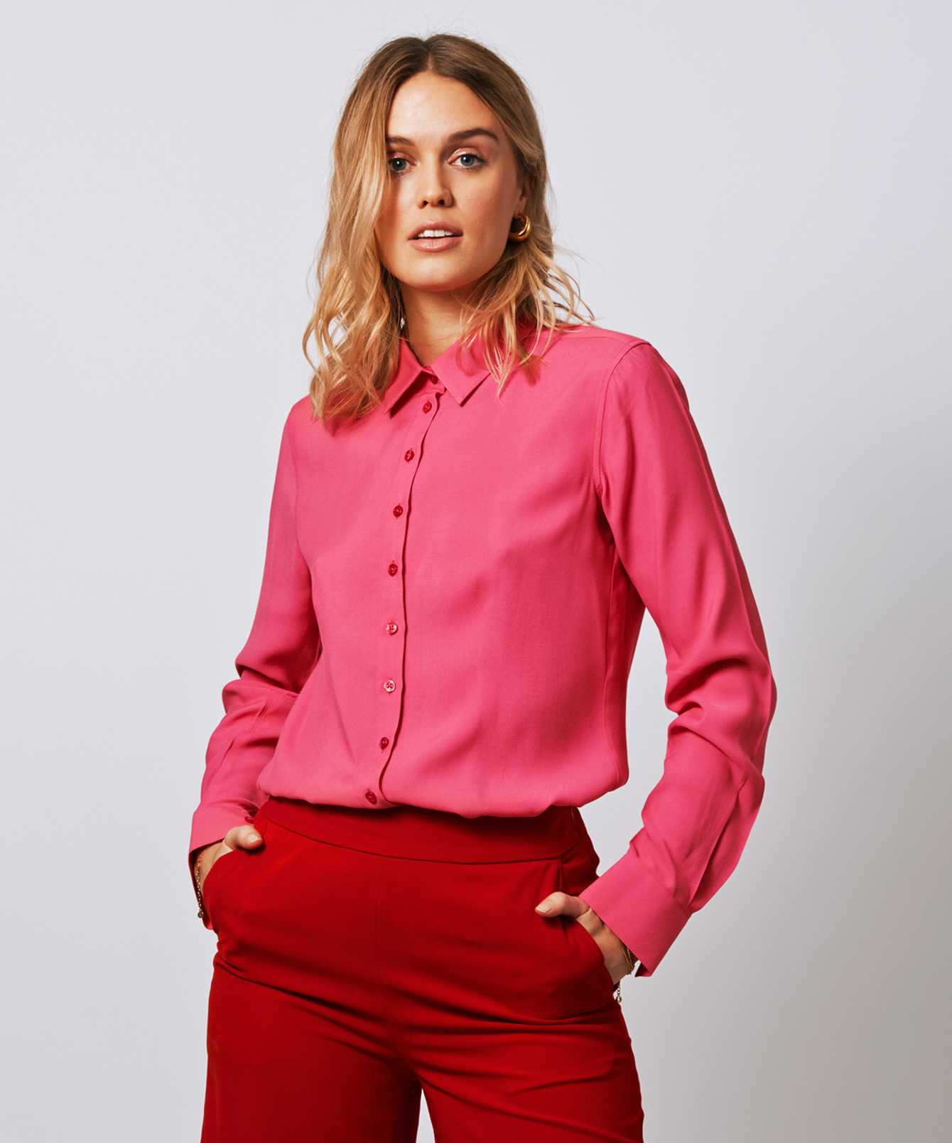 Shirt Tilde Verona Pink  The Shirt Factory