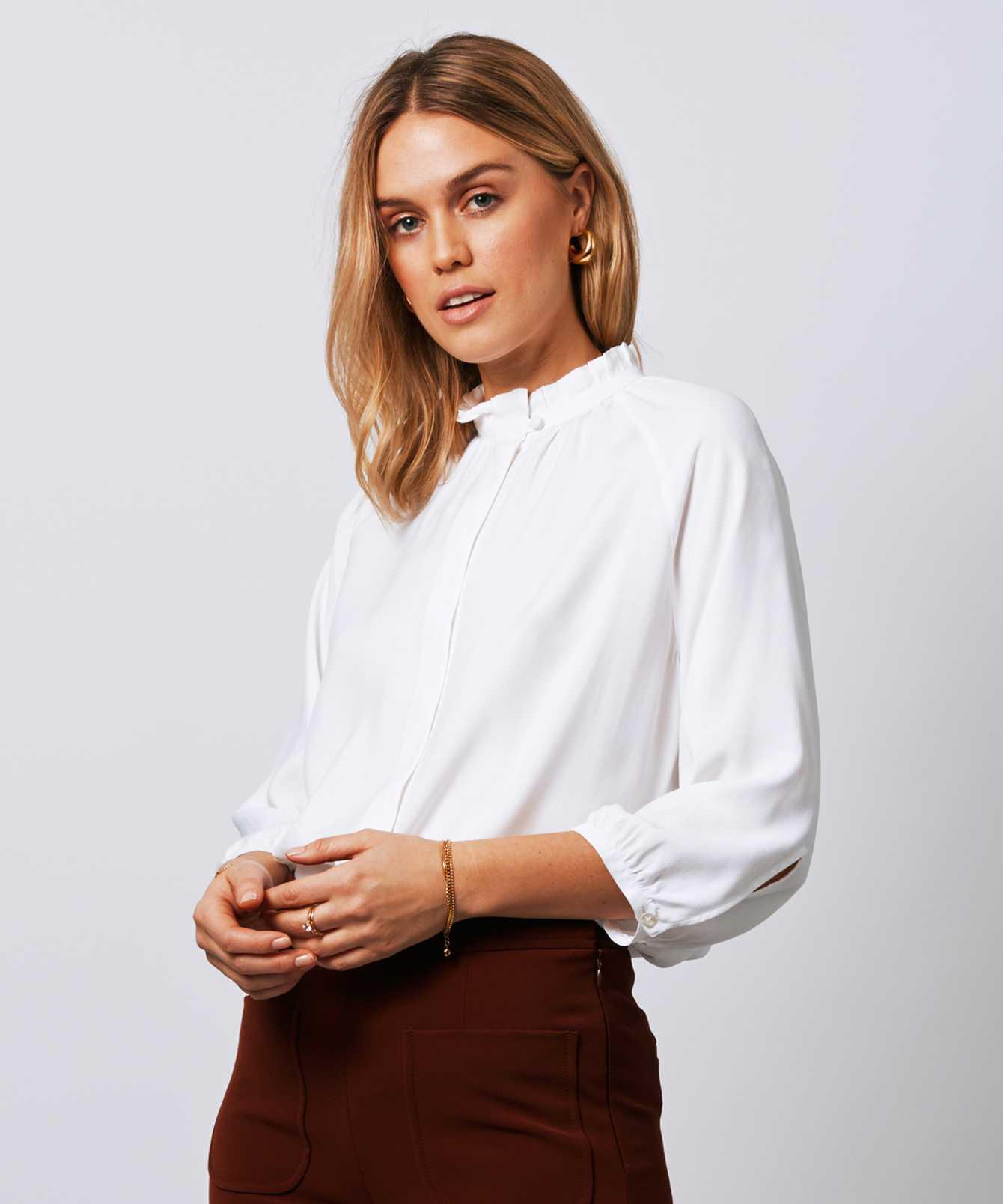 Skjorta Mary Verona Vit  The Shirt Factory