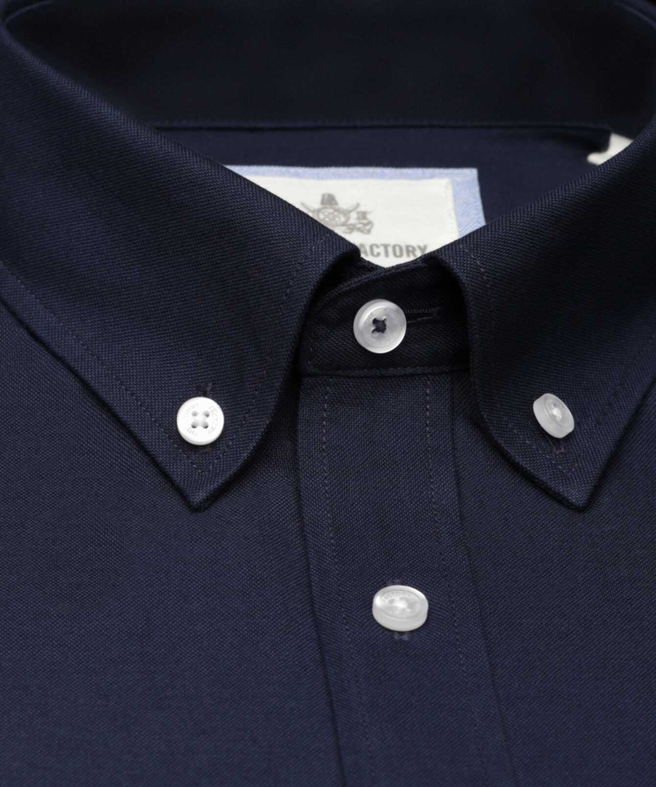 Shirt Hampton Oxford Navy The Shirt Factory