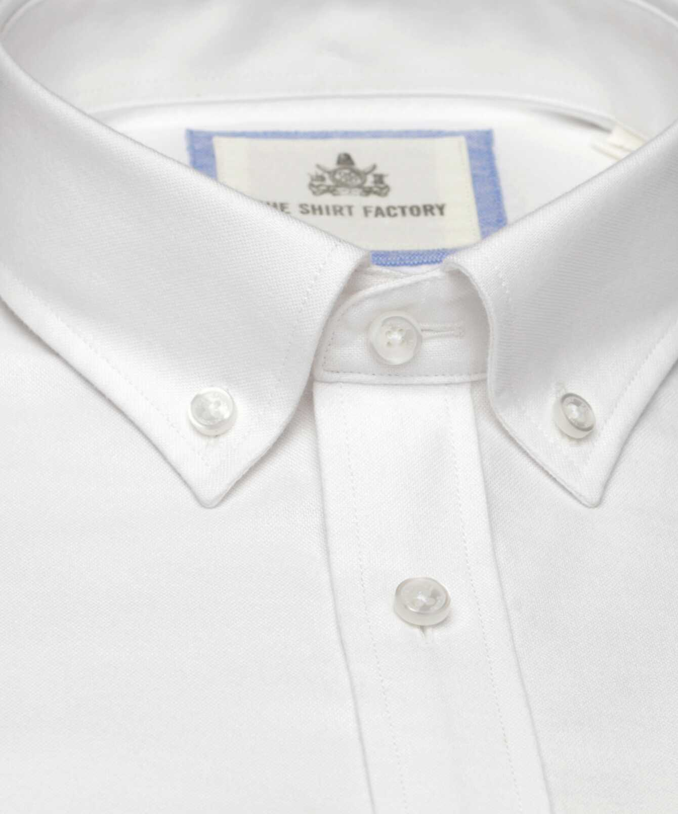 Shirt Hampton Oxford White The Shirt Factory